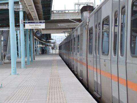 Αποτέλεσμα εικόνας για σταθμό Προαστιακού-Μετρό στο Κορωπί»